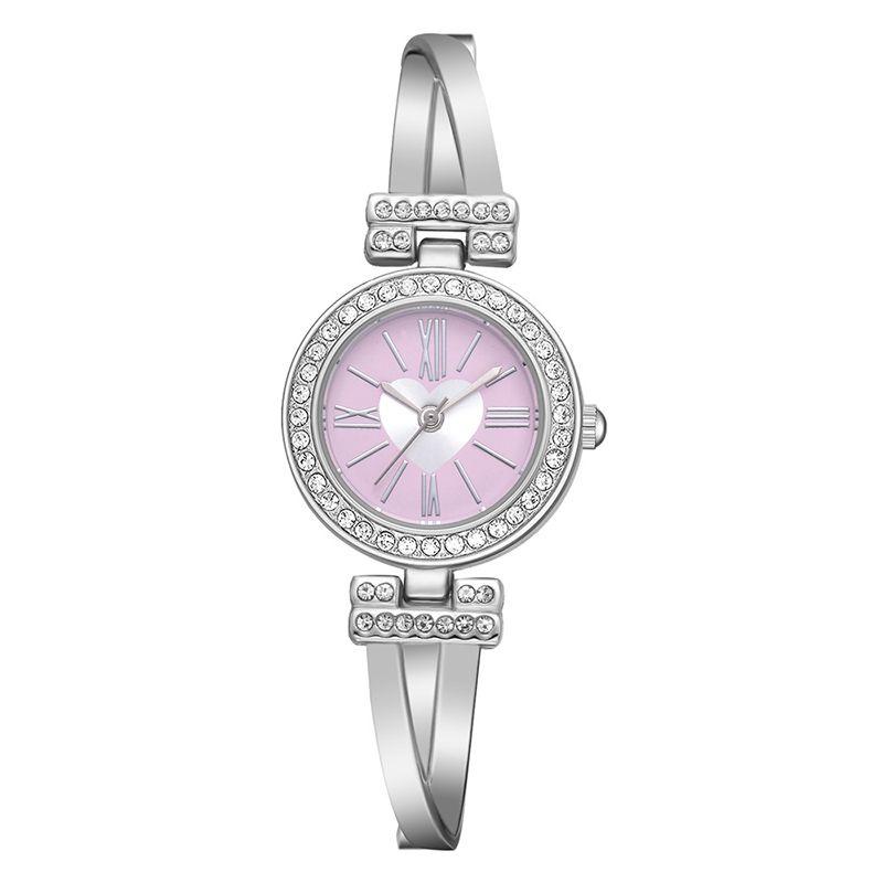 70726eac1816 Compre Rhinestone Relojes De Marca Mujeres Reloj De Lujo Números Romanos  Relojes De Pulsera De Acero Inoxidable Señoras Reloj De Cuarzo Regalos Reloj  Mujer ...