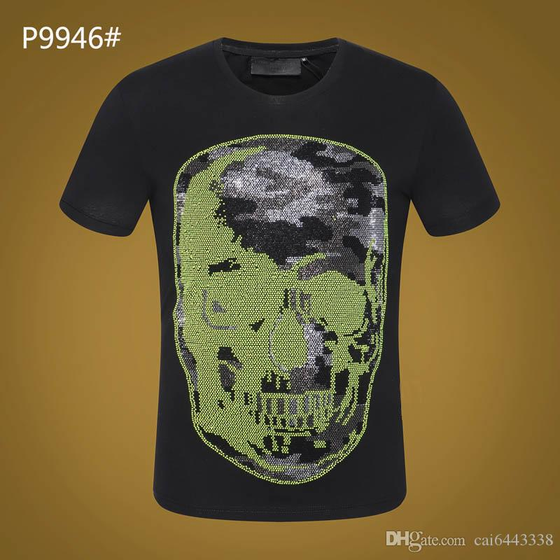 db92a0b6c3a7 Men T Shirt Summer O Neck Casual Fashion Hip Hop Print Tops Tees Cotton  High Quality  3108 PP Men S Short Sleeve T Shirts Tee S It T Shirts From  Cai6443338