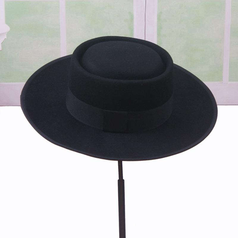 c24b795b7b8 New Fashion Men S Fedora Hat Pork Pie Hats For Classic Church Wool Felt Hat  Autumn Winter Women S Men S Felt Wide Brim Fedora Gambler Hat Winter Hats  Hats ...