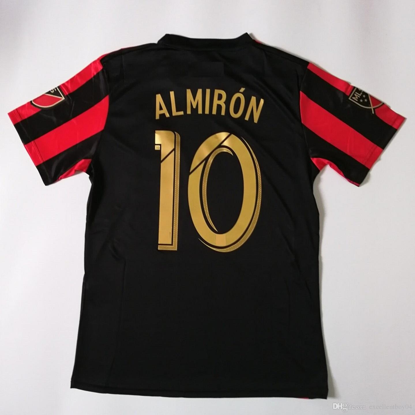 brand new 4ff7a d534f Top quality 2019 MLS Atlanta United FC Soccer Jerseys #10 G.MARTINEZ  Atlanta United FC Home red black Soccer Shirt 2019 A1
