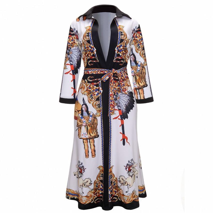 f3e68af11 Compre Vestidos De Roupas África 2019 Novo Estilo Africano Mulheres Dashiki  Moda Imprimir Vestido De Pano Vestidos Africanos Para As Mulheres Robe  Africaine ...