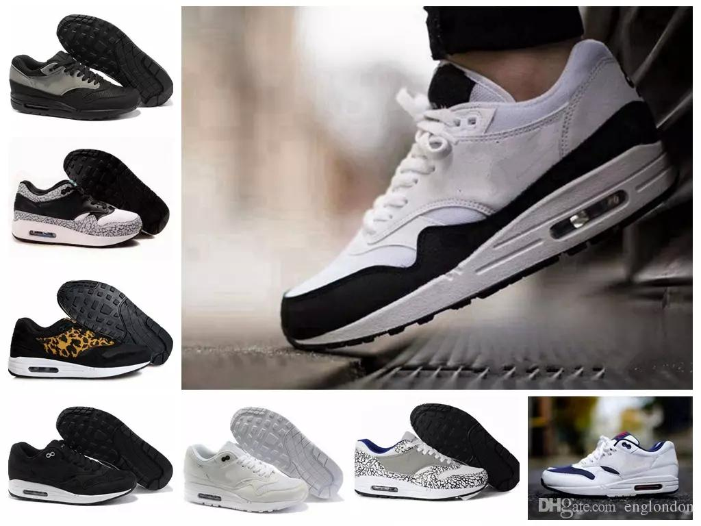 NIKE Air Max 87 N11a Wholsale Casual Shoes Designer Sneakers Mejores zapatos de lujo Top New Sports Shoe Hombres Mujeres Descuento