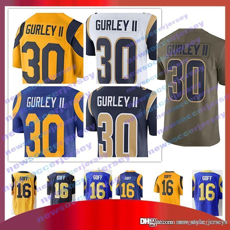 d87e956648d ... todd gurley jersey la rams 2019 30 Todd Gurley II Los Angeles ...