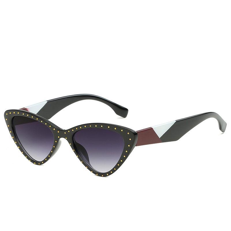 3c017d889d Compre Moda De Calle Vintage Ojo De Gato Gafas De Sol Para Hombres Y  Mujeres Casual Retro Cateye Diseñador Gafas De Sol Gafas De Sol A $7.2 Del  El_ciero ...