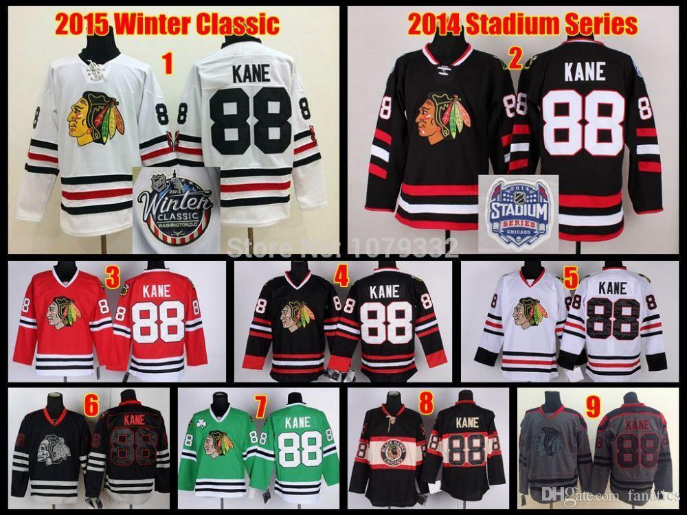 best cheap 26992 db8c8 Cheap Chicago Blackhawks Hockey Jerseys #88 Patrick Kane Black 3rd Winter  Classic Third Jersey 2013 Stanley Cup Finals Emblem