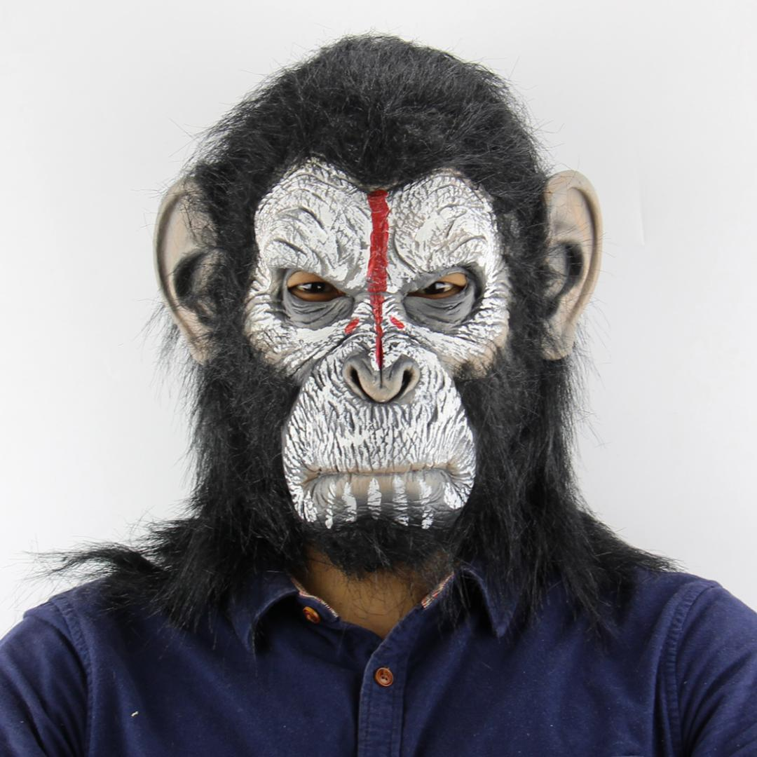 Aadult Gorilla Monkey Halloween Masks Mens Full Face Funny Mask Horror Halloween Party Cosplay Costume Masquerade Scary Masks