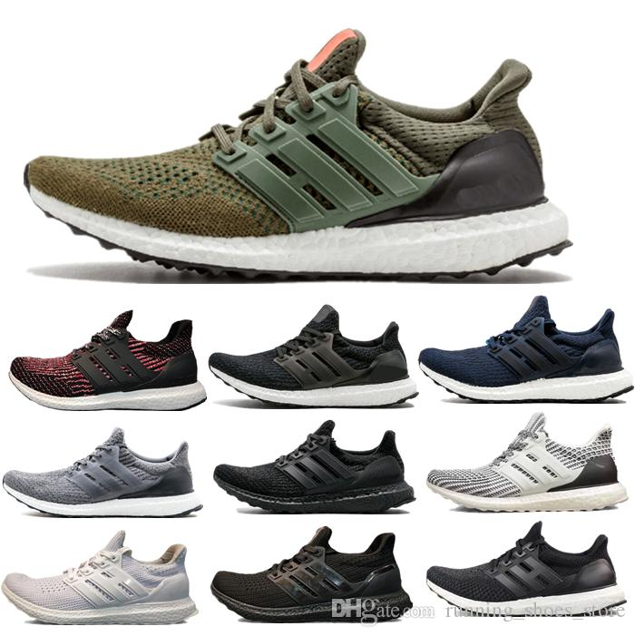 910f7f004 2019 UltraBoost 3.0 4.0 Running Shoes Stripes CNY Black Blue Multi Color  Men Womens Green White Black Oreo Real Boost Sneakers From  Running shoes store