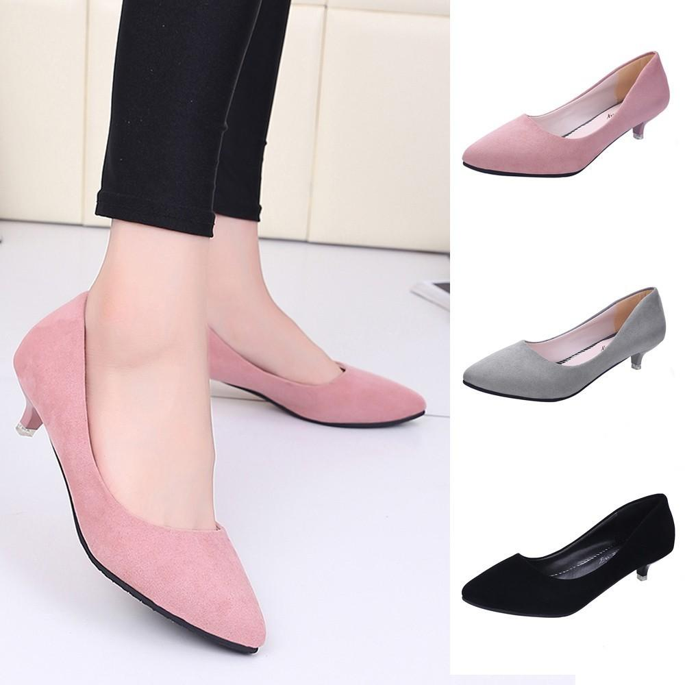 2019 Heels7 Dress Work Mouth Ladies Zapatos Office Designer Fashion Women Tacon Shallow High Elegant Nude Mujer Shoes ym8wnONv0