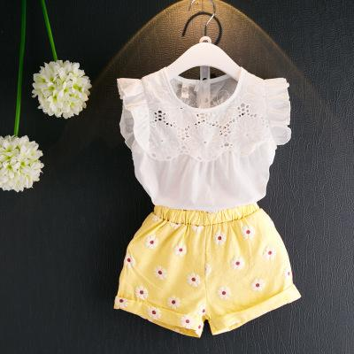 One-pieces Punctual Baby Girl Daisy Flutter Romper Clothing, Shoes & Accessories