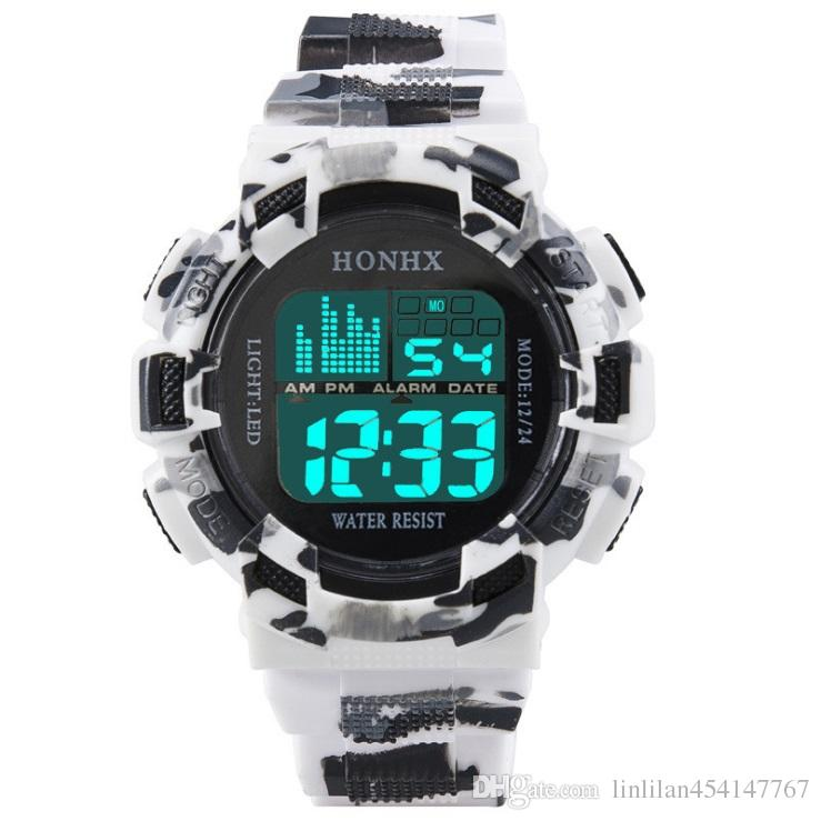 bd176b024e3 Fashion Mens Digital LED Analog Quartz Alarm Date Sports Wrist Watch Relogio  Masculino Erkek Kol Saati Watch Men Best Deal On Watches Watches Deal From  ...