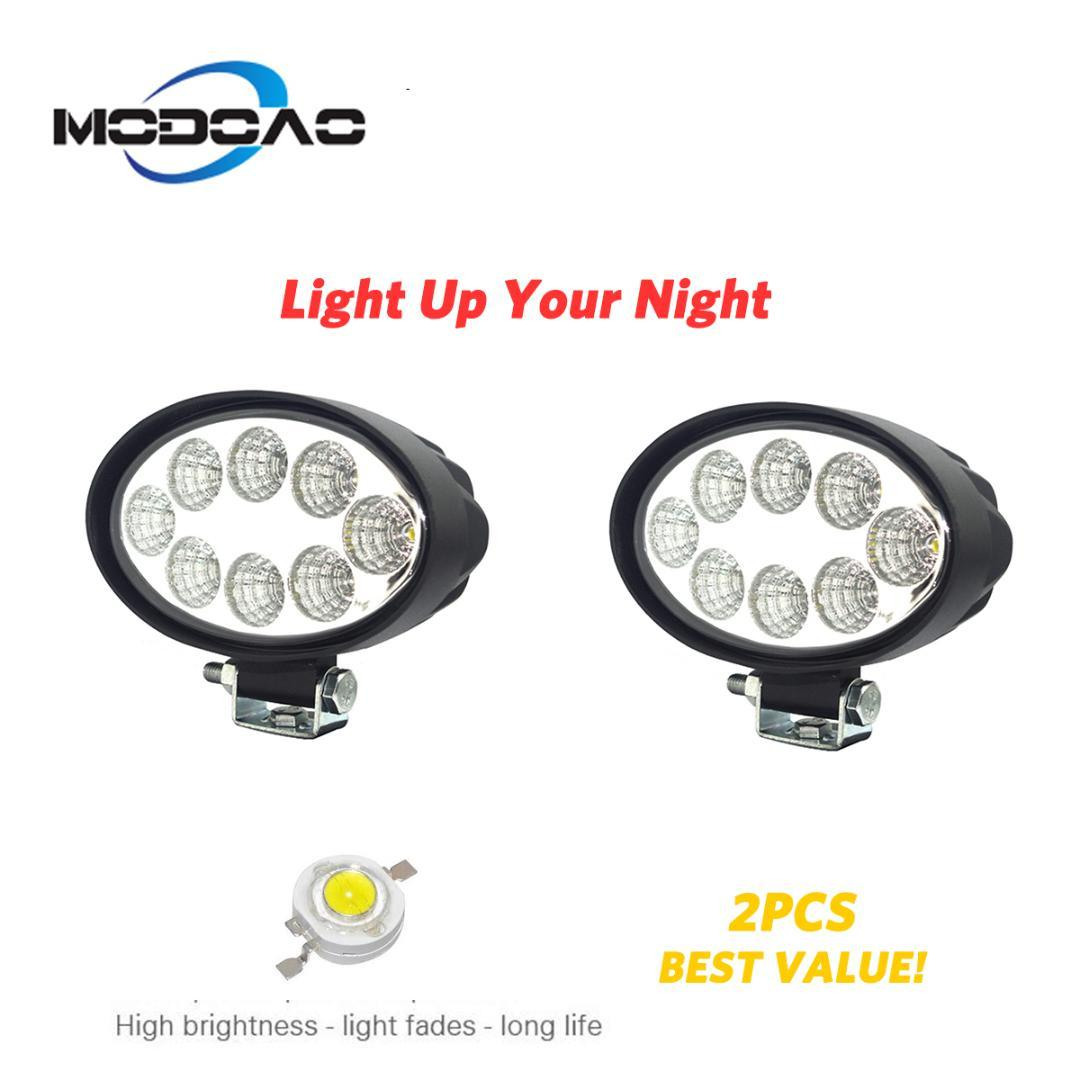 2000Lm 24W Car Led Work Light Spotlight 30 o Floodlight 60 para Off Road, SUV, Truck Trailer, Atv, Utv