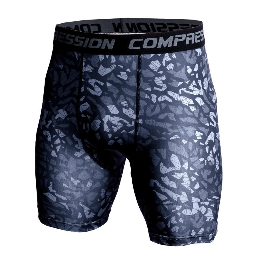 Fashion Summer Beach Compression Shorts Men 3D Camo Print Short Leggings Men/ Women Joggers Quick-drying Fitness Sweat shorts