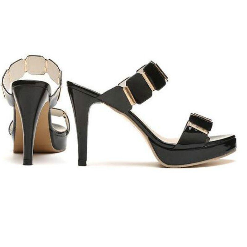 Peep Talons Chaussures Minces Toe Plateforme Femmes Élégantes Sandales 2019 Dames 9cm Super Hauts Été Sur Mode Slip 6IbfgvY7y