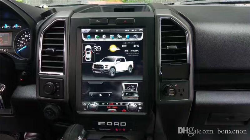 ford   pick  tesla style multi media car android system screen   gps video