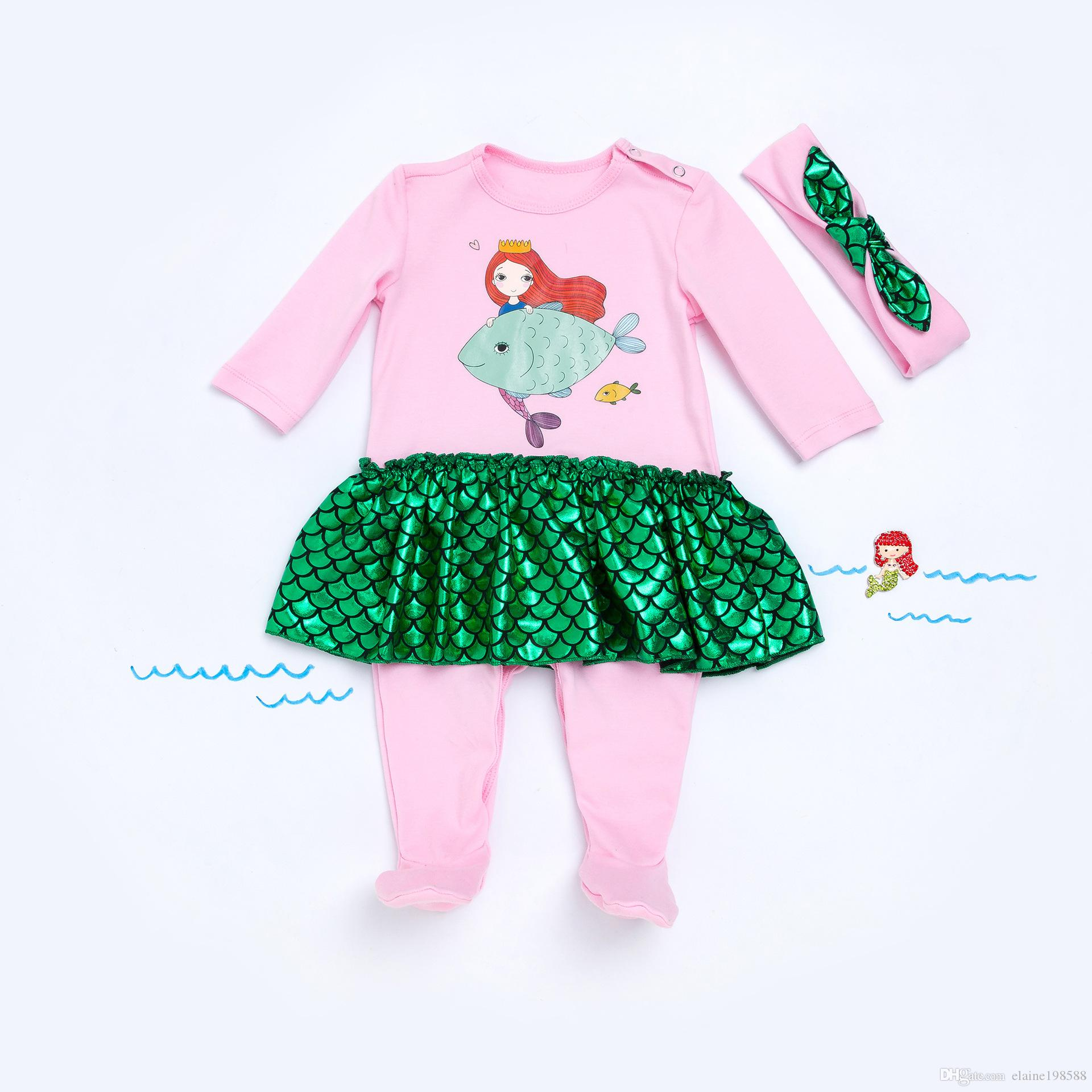 adc079c14 Fashion Newborn Overalls Autumn Winter Long Sleeve Cotton Baby Girl ...