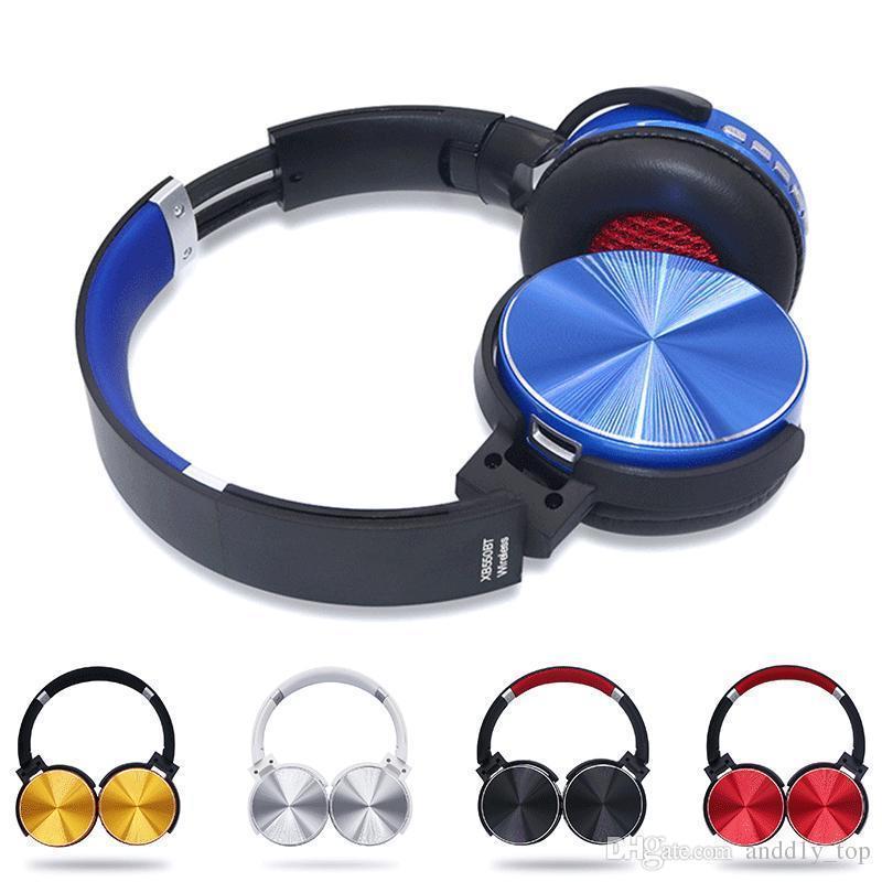 Casque Audio Pas Cher Casque Découte Sans Fil Bluetooth Stéréo Avec