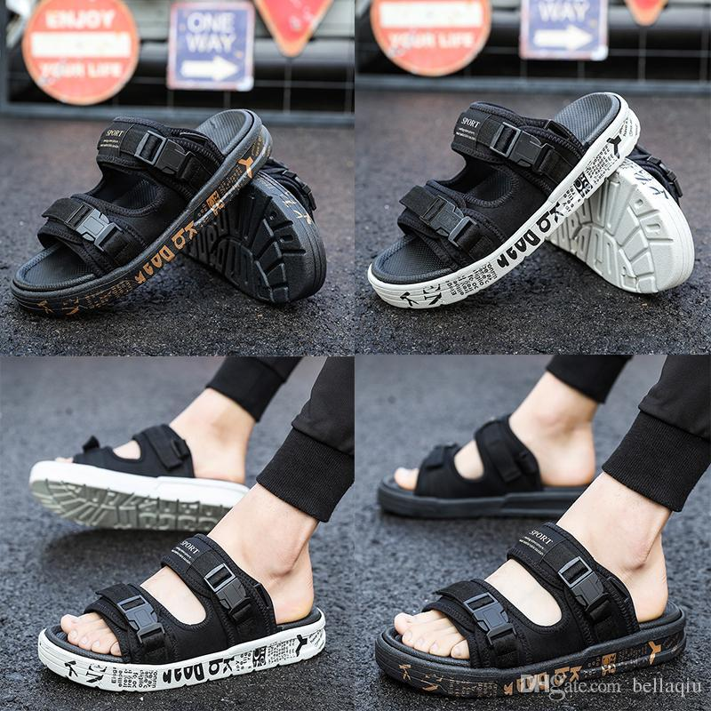 e32321da43e7 Hot Sale Brand Designer Slippers Suicoke Sandals Fashion Mans Women Lovers  Visvim Summer Casual Shoes Slippers Beach Outdoor Slippers White Wedges  Cheap ...