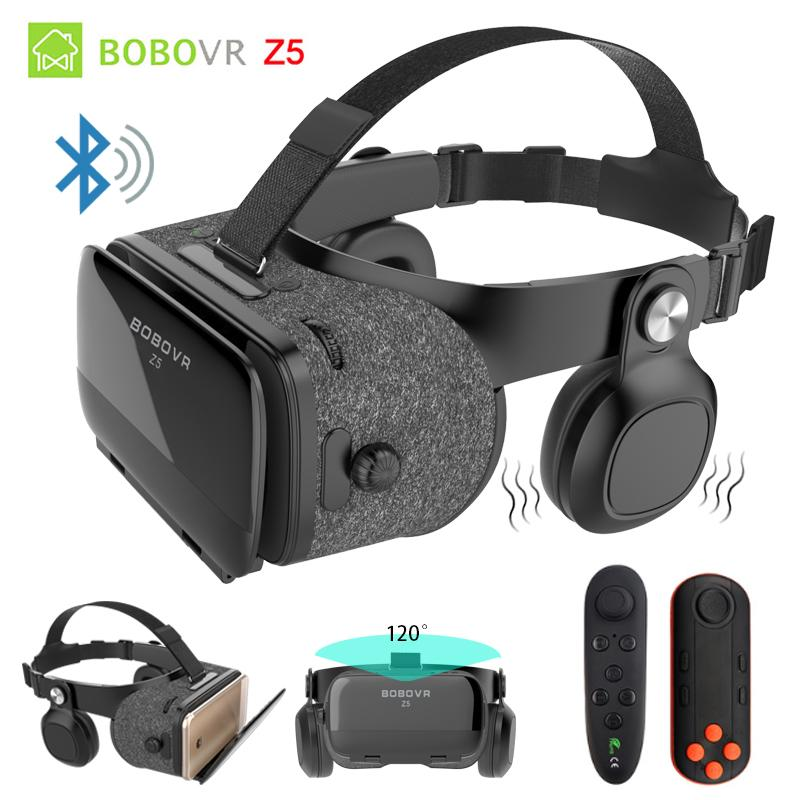 15be2ffc83d BOBOVR Z5 4D Bluetooth Virtual Reality 3D Glasses Cardboard Helmet  Smartphone VR Goggles Shock Headset Box For Iphone 8 Android High Quality 3D  Glasses  3D ...