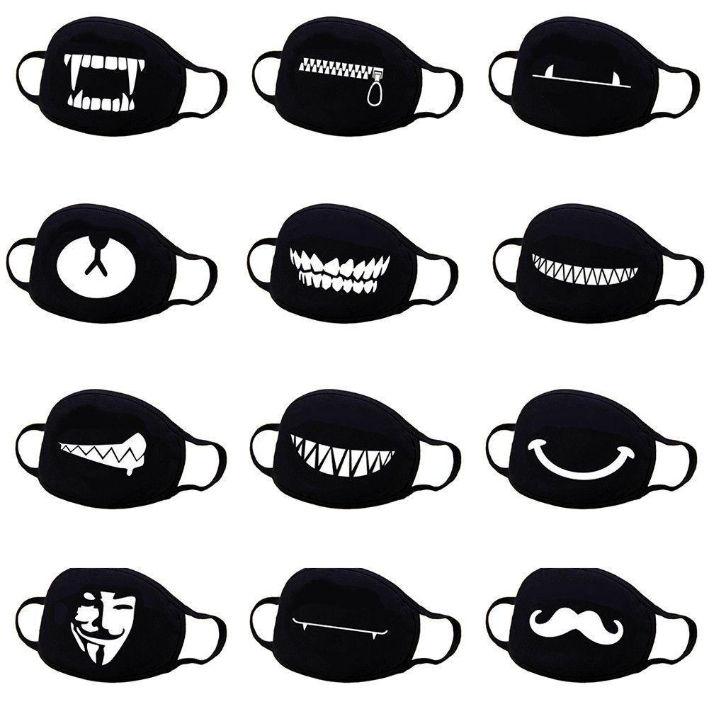 Compre Unisex Anime Face Mouth Mask 13 Estilo Camuflaje Boca Mufla