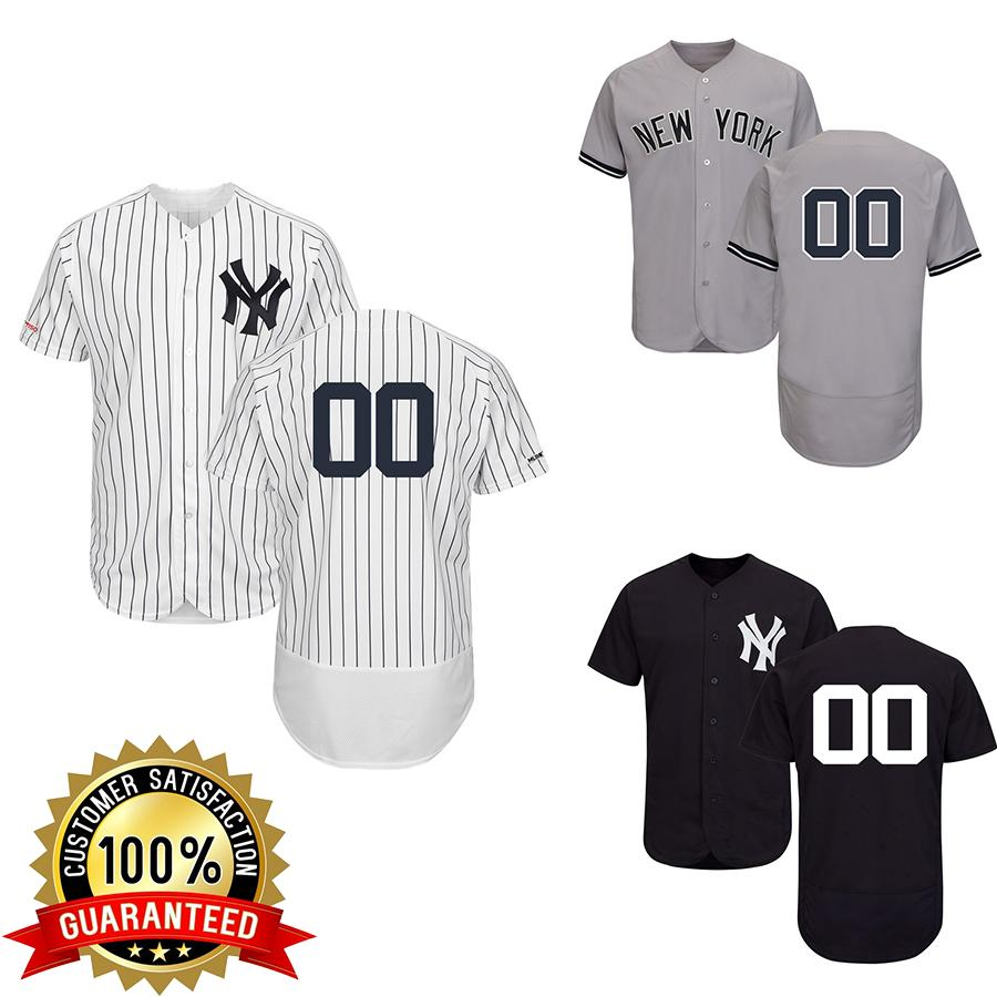 the best attitude 1ecaf 5539b Aaron Judge Jersey Flex Base New York Custom NY Yankees Derek Jeter Mariano  Rivera Giancarlo Stanton Player Gleyber Torres Baseball Jerseys