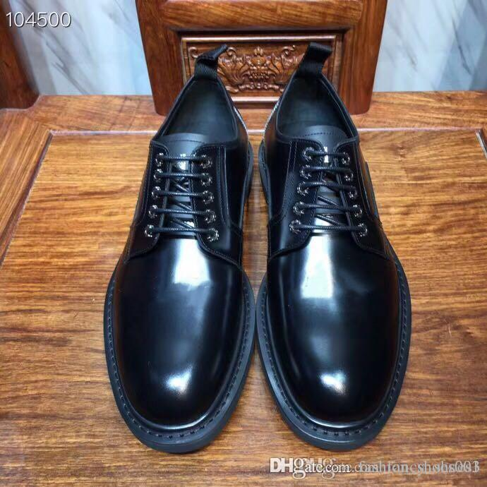 New men business fashion leather, imported sheepskin lining, casual shoes low cut leather fashion dress shoes