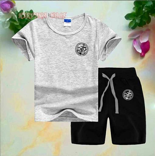 3fb0e63c3c2583 2019 Summer Brand Kids Clothes Set Boys Sport Suit Children Short Sleeve T  Shirt+Shorts Pant Girls Clothing Jogging Tracksuit From Fajia168, $9.85 |  DHgate.