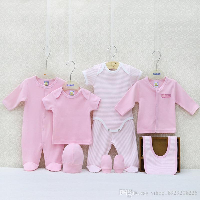 be84d14c46b8b 2019 Newborn 100% Cotton Boys And Girls Clothing Gifts Set Summer And  Autumn 0 9 Months Baby Clothes Sets From Vihoo18929208226, $17.99 |  DHgate.Com