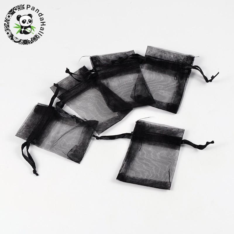 Takı Ambalaj için 100 adet Organze Çantalar 7x5cm