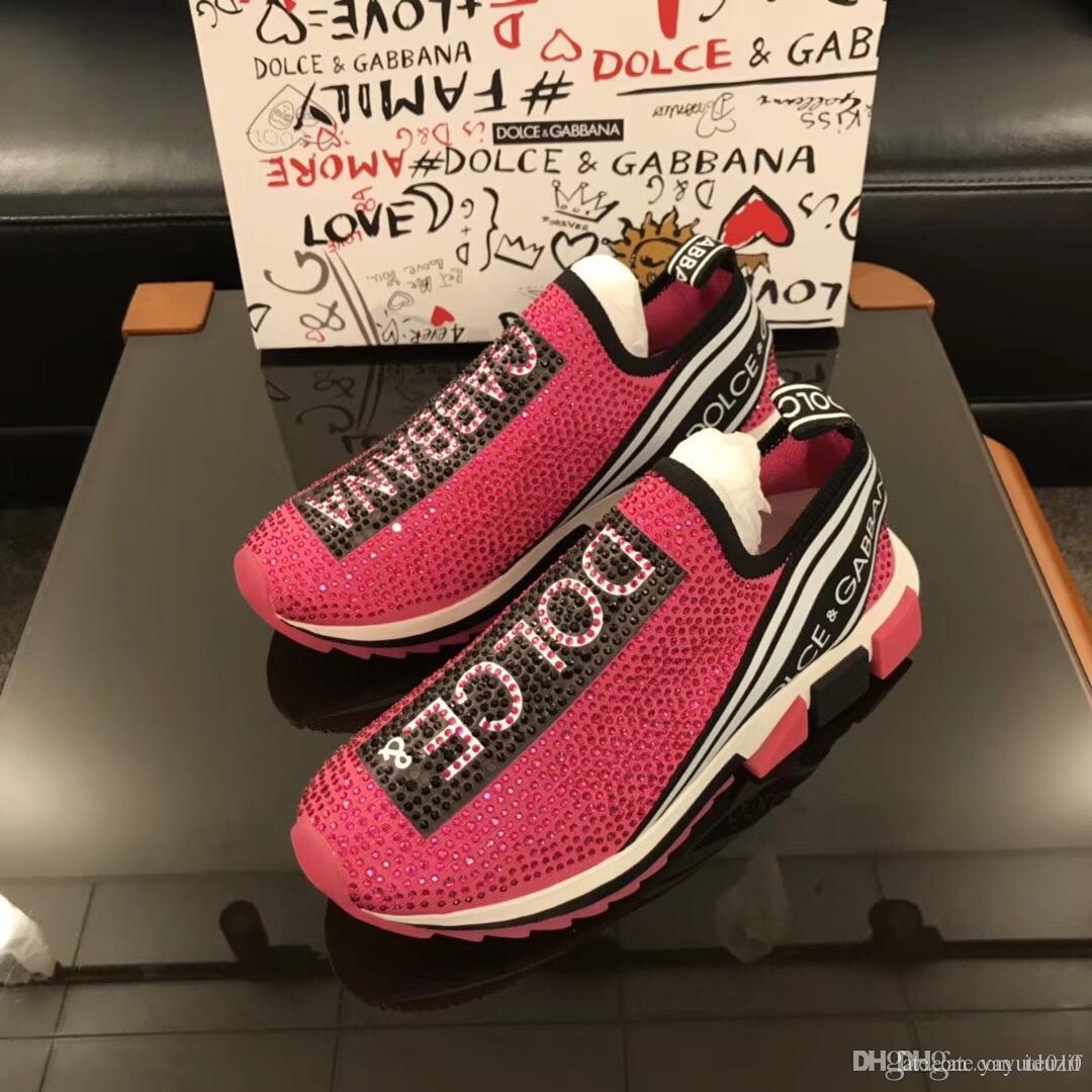 4c42fe7c827f Iduzi New Style Fashion High Men Shoes Spikes Shoes Luxury Designer ...