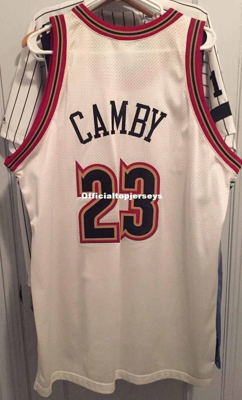 sale retailer f5de5 71f1a Cheap wholesale Marcus Camby #23 Jersey Pro Sewn RB T-shirt vest Stitched  Basketball jerseys Ncaa