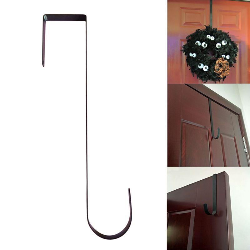 2019 Sterling Metal Wreath Hanger Home Kitchen Wall Door Holder Hook