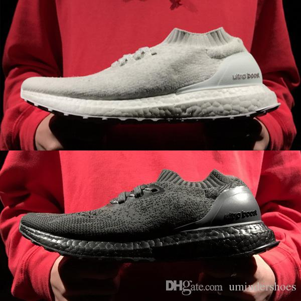 c665474d15a2 2019 Black UltraBoost Uncaged Triple White Ultra Boosts Shoes On Sale
