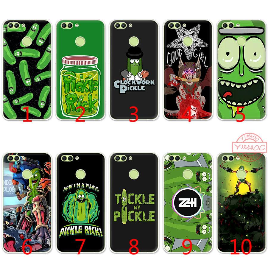 Mr Pickles Rick Soft Silicone TPU Case For Huawei Honor 7A 2GB Pro 7C 7X 8  9 10 Lite Cover Cheap Phone Cases Cool Phone Cases From Emmall 89bde7e15c091