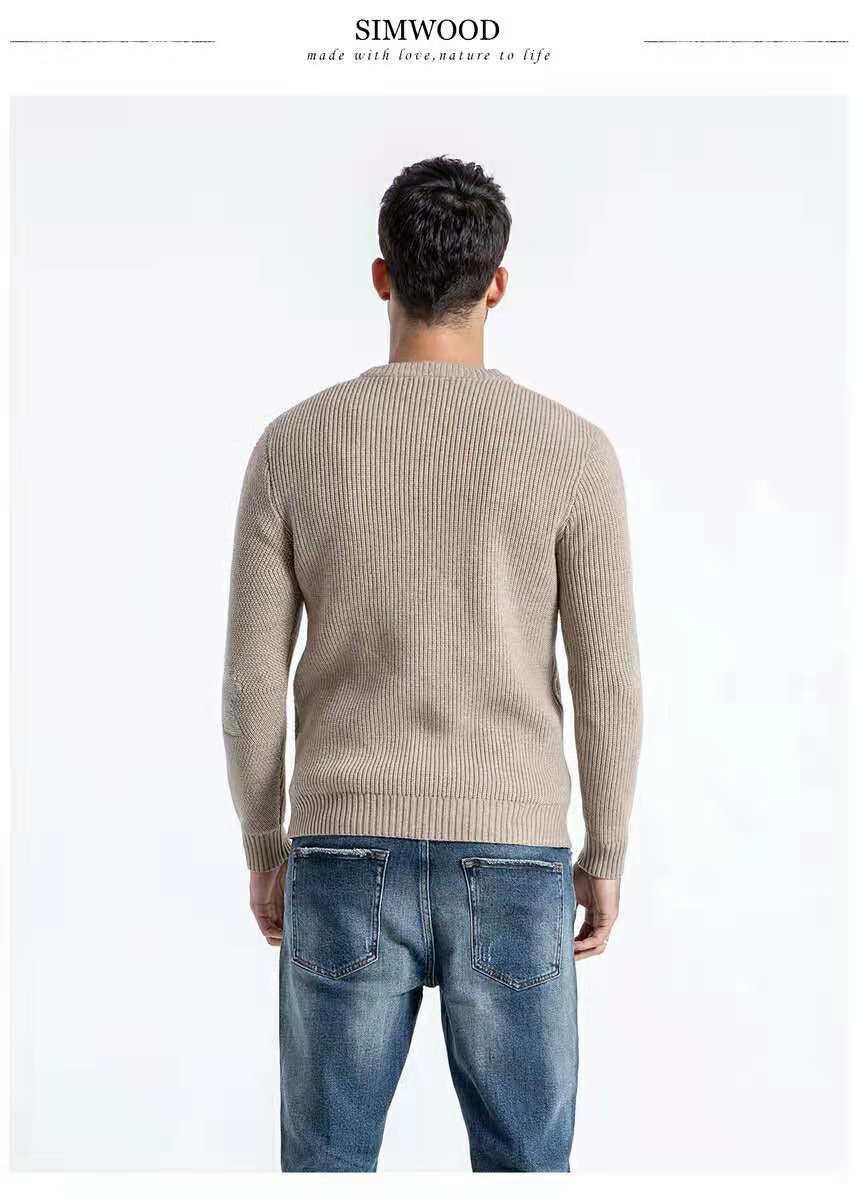 3bb36109f30645 New Brand Autumn Winter Men Woman Sweater Loose Round Collar Knitear ...