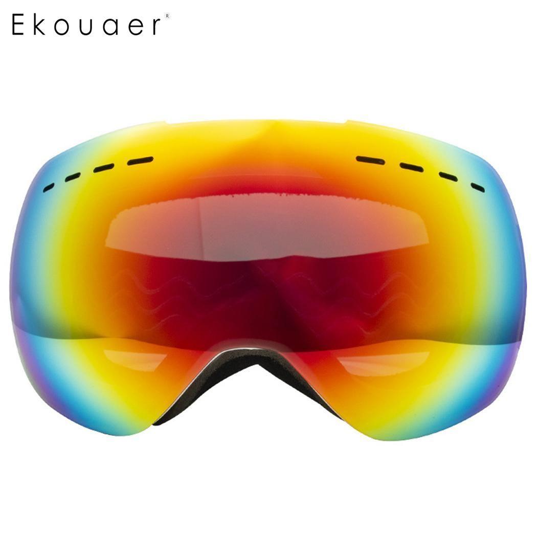 47cc0b5c908e7 2019 2019 Ski Goggles Double Layers UV400 Anti Fog Big Ski Mask Glasses  Skiing Men Women Professional Snow Eyewear Lens From Yarqi