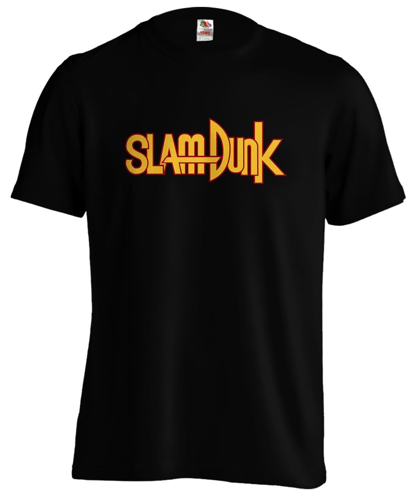 huge selection of c9261 41edf Großhandel Slam Dunk Basketball Logo Anime Manga T Shirt Weißes Schwarzes  Graues Rotes Hosen T Shirt Anzughut Rosa T Shirt RETRO VINTAGE Klassisches  T Shirt ...