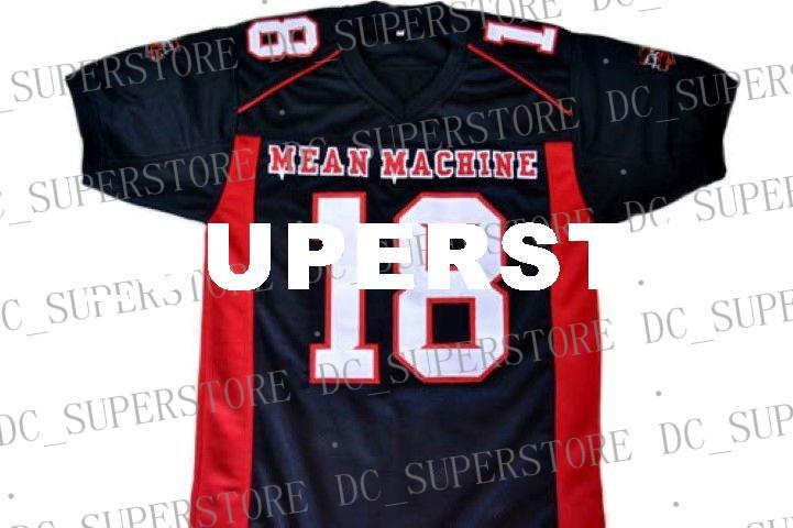 f18aba6ed4e 2019 Custom CREWE # Mean Machine Longest Yard Football Jersey Black  Stitched Custom Any Number Name MEN WOMEN YOUTH Football JERSEY From  Dc_superstore, ...