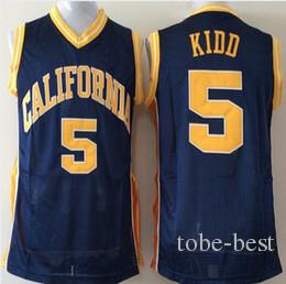 2019 NCAA Mens California Golden Bears Jason Kidd College Basketball Jerseys  Mens 5 Jason Kidd University Stitched Basketball Shirts From Tobe Best 71731ff94