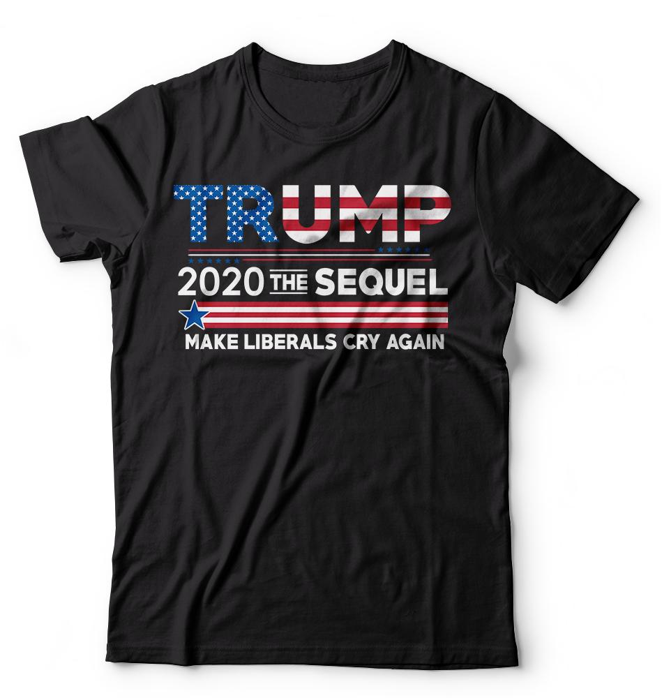 553f00e0f Donald Trump President T Shirt Funny 2020 Elections Make Liberals Cry Again  Tees Men Women Unisex Fashion Tshirt Printed T Shirt Funny T Shirts For  Guys ...