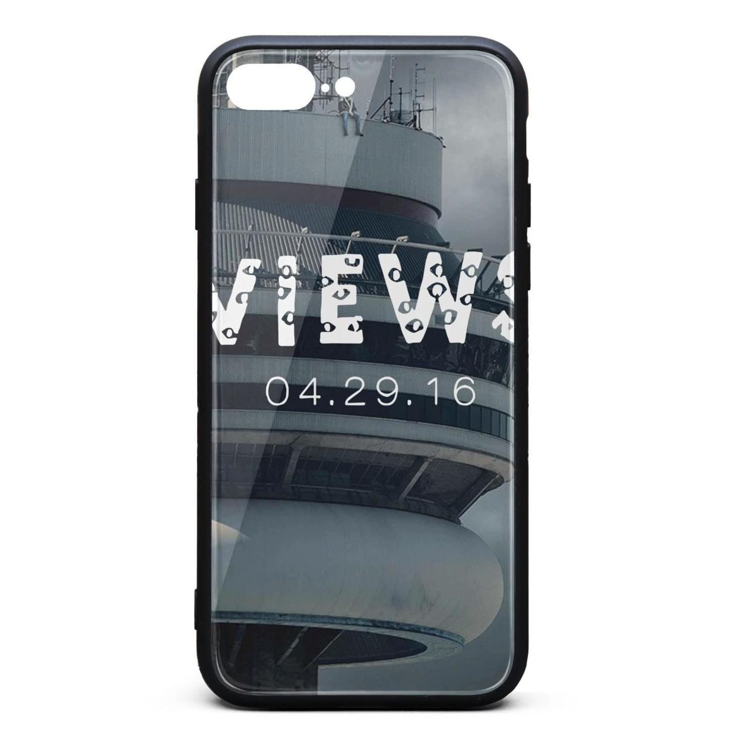 super popular 18192 34d5f IPhone 8 Plus Case iPhone 7 Plus Case Drake Funny Views trendy  shock-absorption TPU Soft Rubber Silicone Cover Phone Case