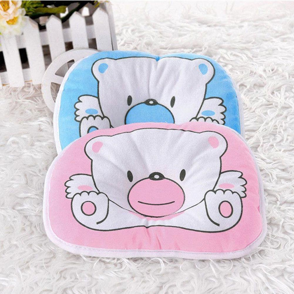 New Baby Pillow Newborn Anti Flat Head Syndrome for Crib Cot Bed Neck Support