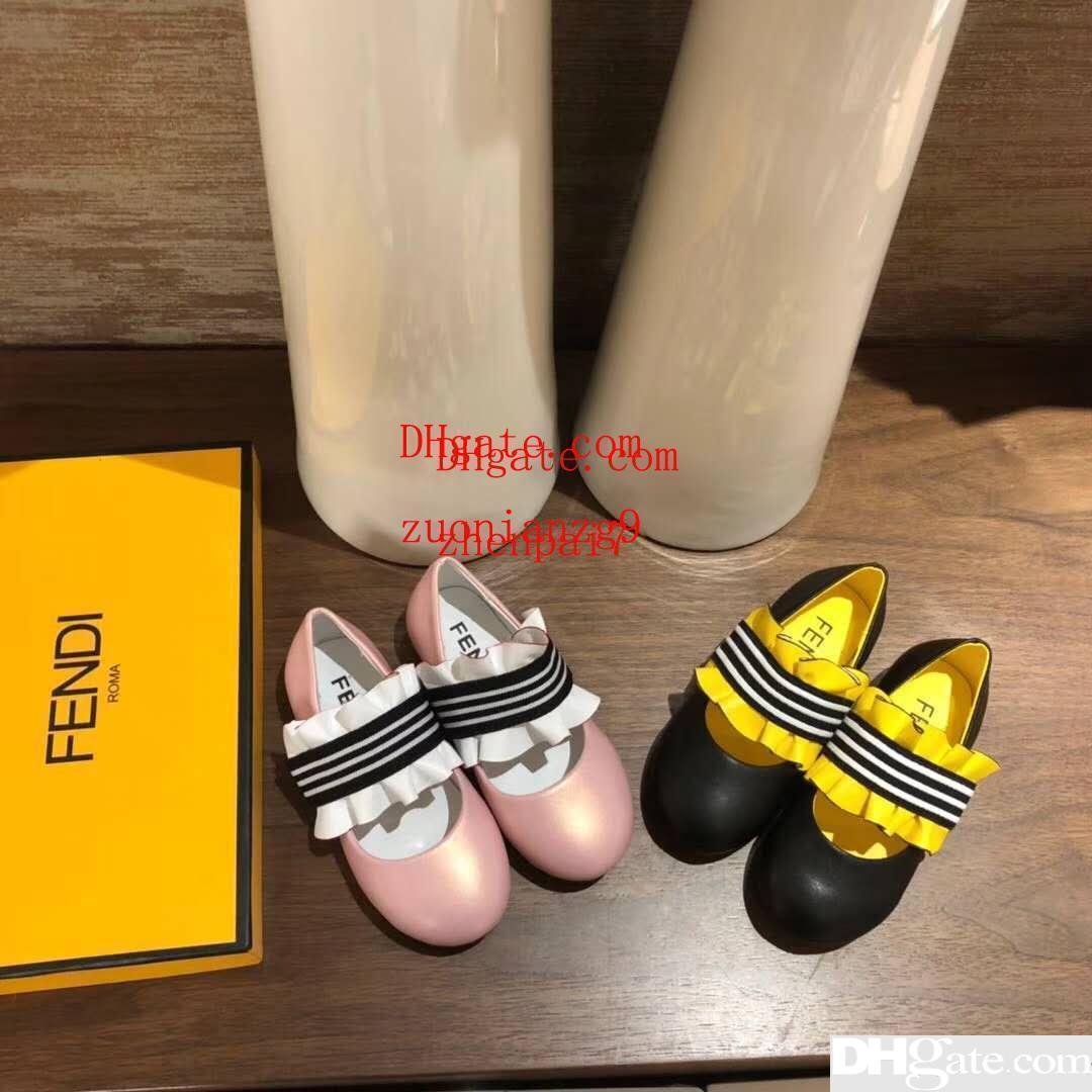 ae4e3ae1 Compre Amarillo Niña Rosa Casó Zapatos De Moda Niña Zapatillas De ...