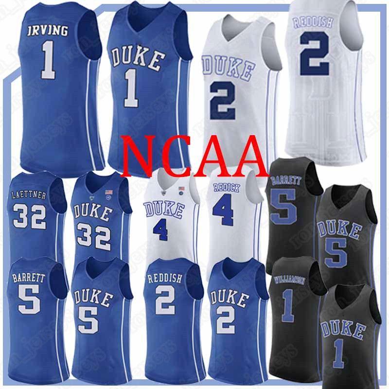 60f740fe44e3 2019 NCAA Jerseys Duke Blue Devils College Jersey 1 Zion Williamson Jersey  5 RJ Barrett 2 Cam Reddish 2019 Basketball Uniform From Ron jerseys
