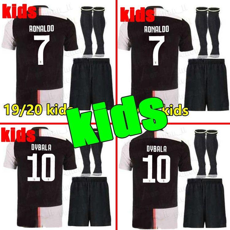 625b51bec8a 2019 2019 2020 Home Juventus Soccer Jersey KIDS DYBALA RONALDO Soccer Shirt  18 19 20 Customized MARCHISIO MANDZUKIC Football Shirts From Group1234, ...