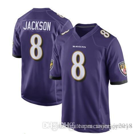 2d91e02c9 Baltimore 8 Lamar Jackson Ravens Jersey Mens 9 Justin Tucker 81 Hayden  Hurst 32 Eric Weddle 55 Terrell Suggs 57 Mosley Jerseys Stitched Logos Free  Shipping ...