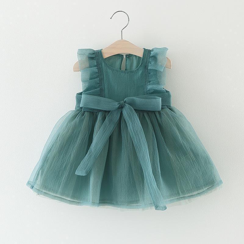 Vestido De Bautismo Para Niñas Bebés 1 3 Años Trajes De Navidad Niñas Vestidos De Princesa Mesh Bowknot Fiesta De Cumpleaños Vestidos