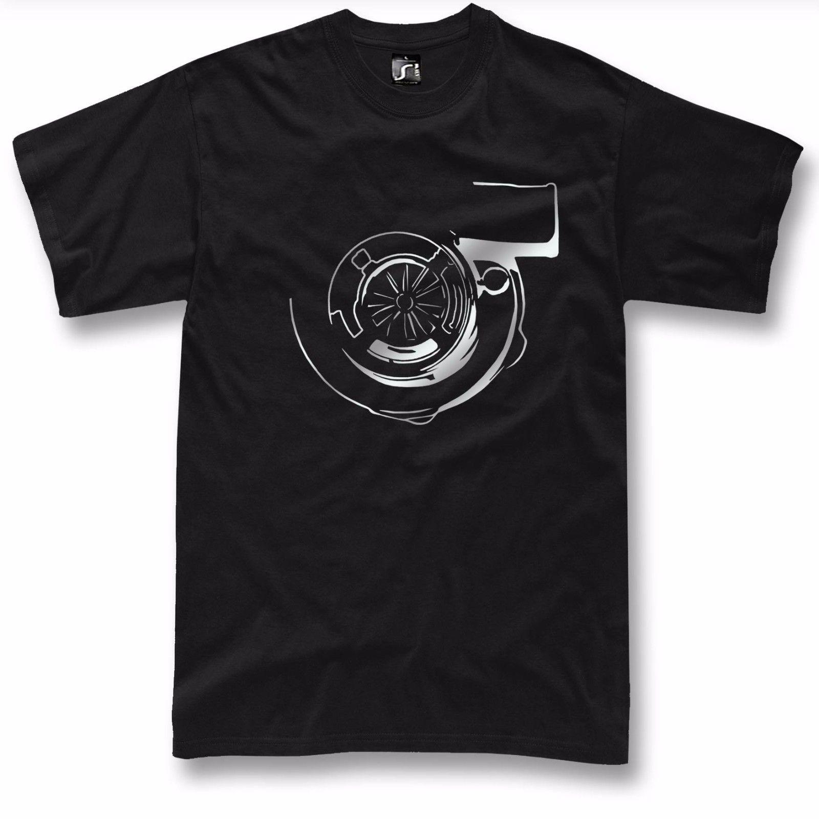 Turbo T Shirt Boost JDM Tuning Drift car NEW Silver Graphic design ( S 5XL ) 2018 New Short Sleeve Family Top Tee