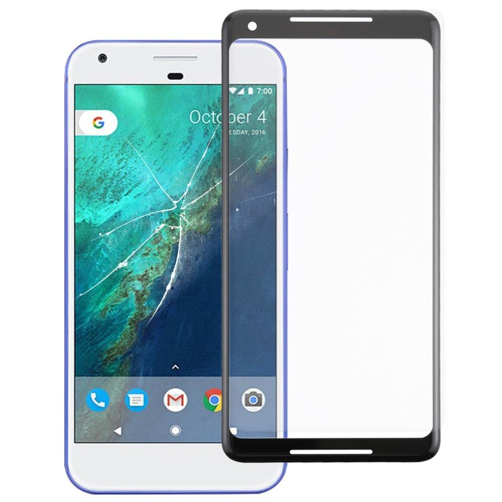 Front Screen Outer Glass Lens for Google Pixel 2 XL (Black)