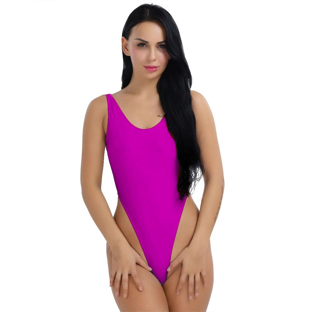 1ffaaba252 2019 Sexy Womens Ladie Swimming One Piece Push Up Bikini Swimwear ...