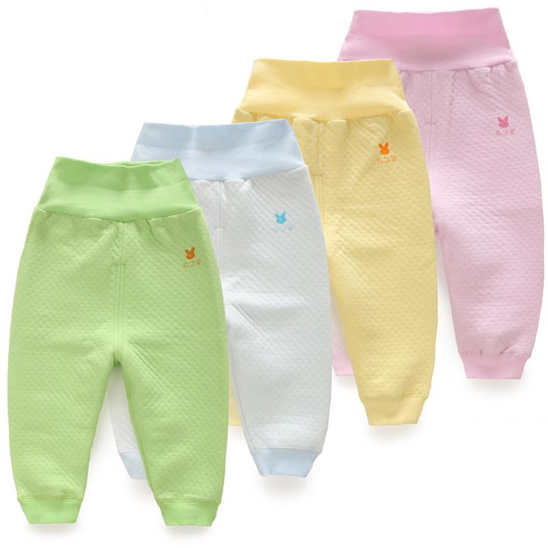 Baby Girls Pants Thicken Cotton Kids Wear Protect Belly busha PP Pant Spring Autumn Warm Toddler Homewear Newborn Boys Trousers